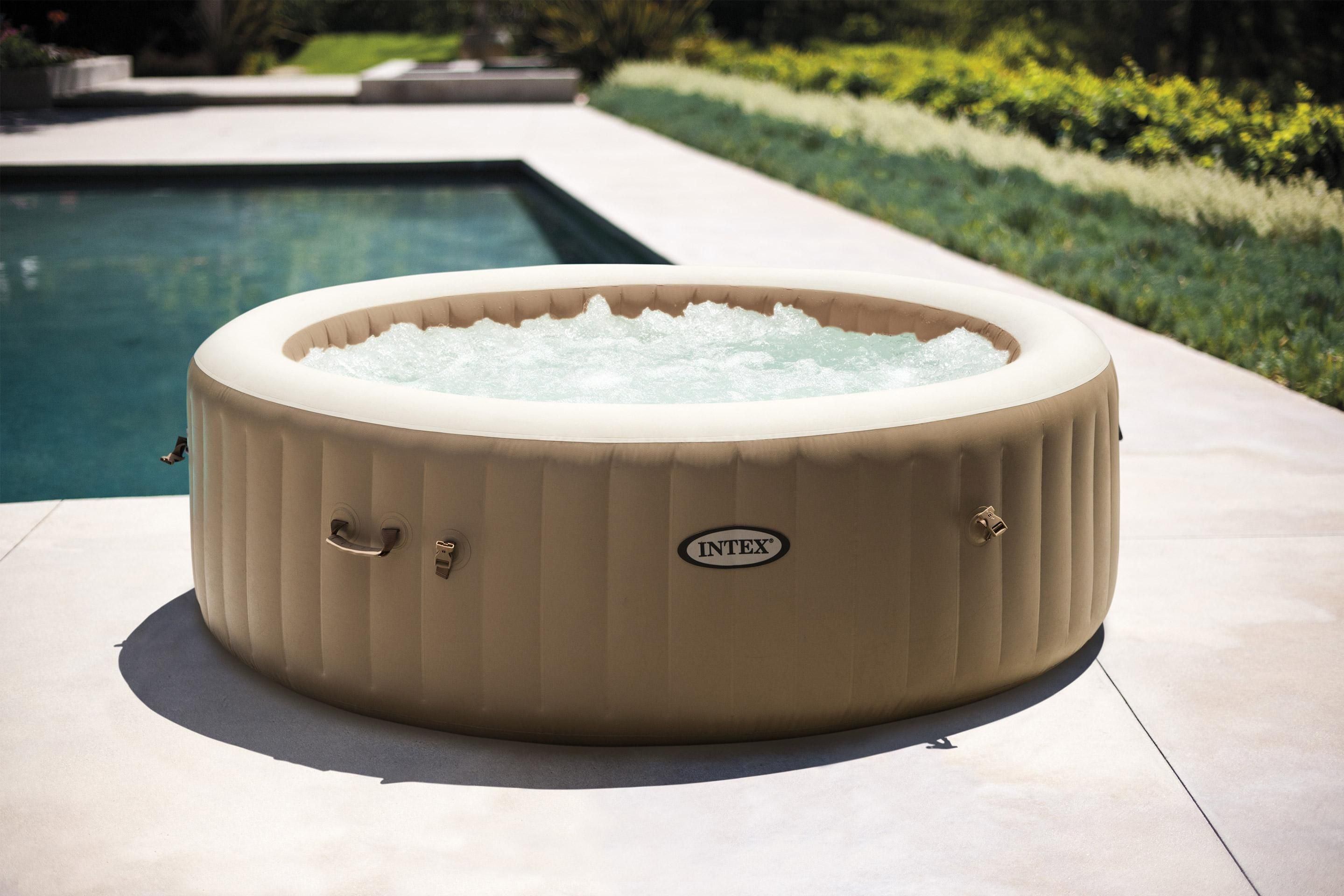Jacuzzi 6 Places Leroy Merlin spa gonflable intex sahara rond en 2020 | spa gonflable