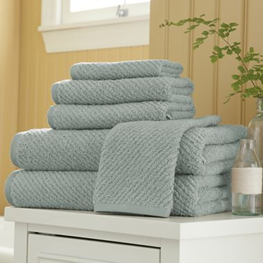 Linden Street Quick Dri Textured Towels Jcpenney With Images