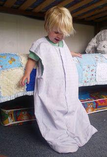 Turning an old shirt into a new sleepsack   salubrious-shop.blogspot.co.nz
