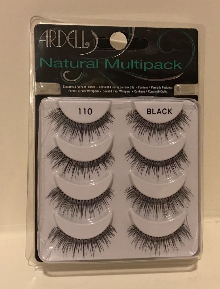 3bc52bf68fa Ardell 110 NATURAL MULTI PACK (4 Pairs) False Eyelashes Fake Lashes   eBay