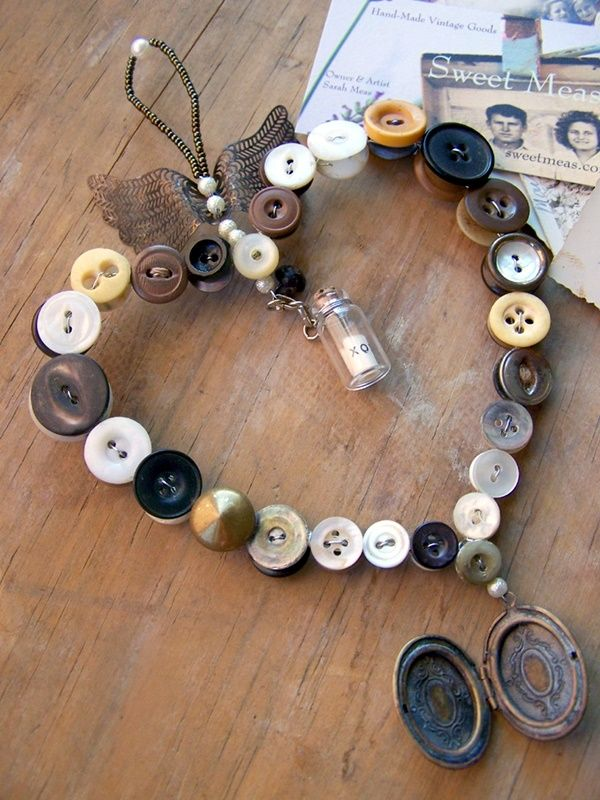 40 Cool Button Craft Projects for 2016 | Cute as a Button ...