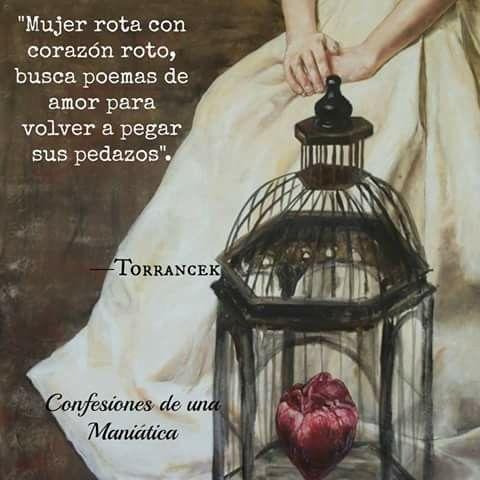 Poemas De Amor Con El Corazon Roto Mujer Rota Con Corazon Busca Poemas De Amor Para Volver A Pegar
