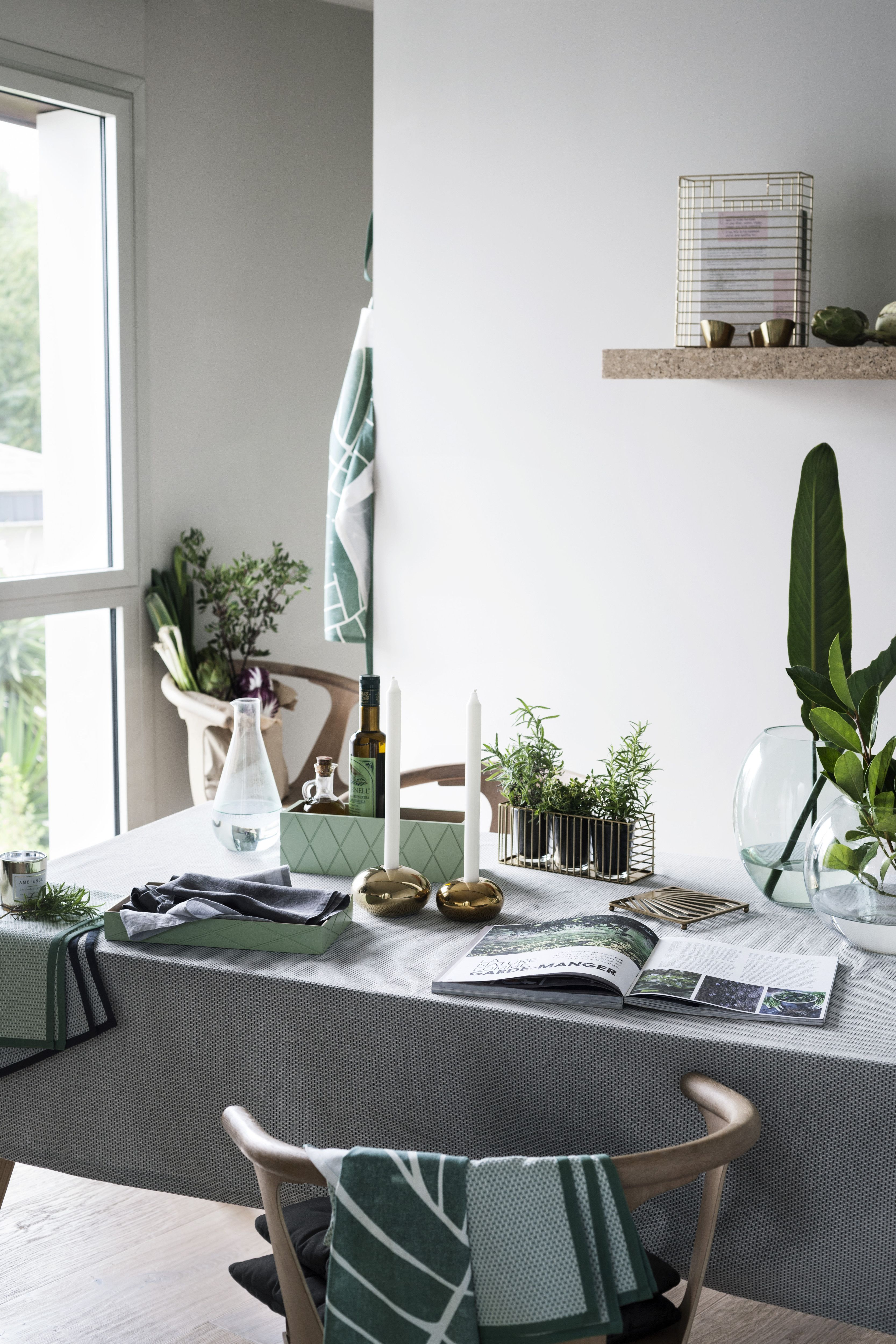 H&M Home's Sumptuous Spring 2016 Collection Goes Back to Nature | @andwhatelse