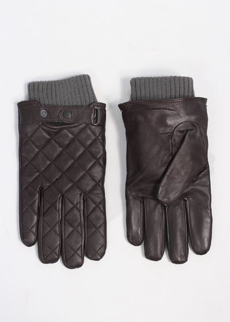 Barbour Quilted Leather Gloves - Brown | Accsessories | Pinterest ... : barbour quilted gloves - Adamdwight.com