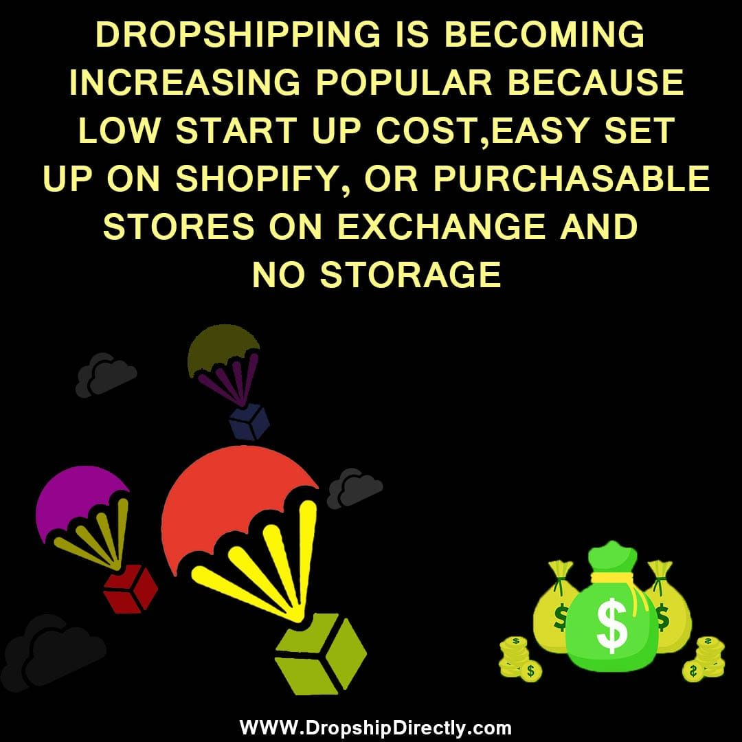 The benefits of a dropshipping business Keep following
