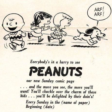 Charlie Brown Knew How To Sell Himself In Vintage 'Peanuts' Ads - ComicsAlliance   Comic book culture, news, humor, commentary, and reviews