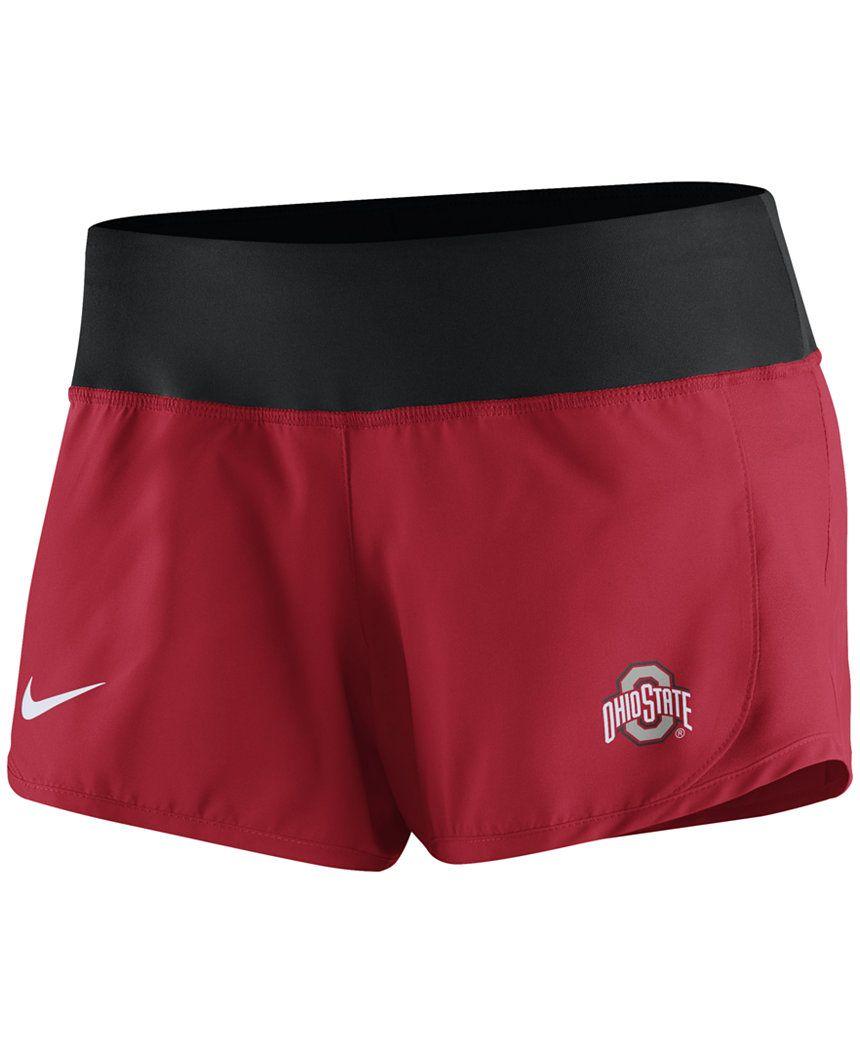 18f64428f07b1 Nike Women s Ohio State Buckeyes Gear Up Crew Shorts - Sports Fan Shop By  Lids - Men - Macy s
