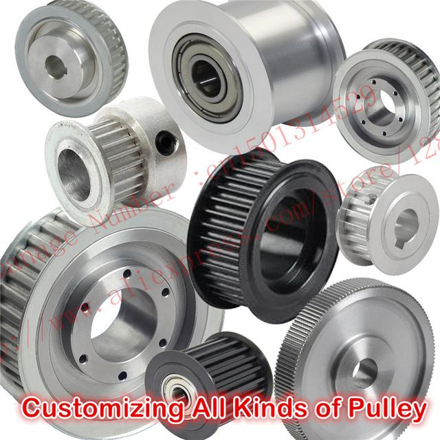 High quality Timing Pulley Aluminium alloy or Steel Manufacture Customizing all kinds of Timing belt pulley synchronous pulley