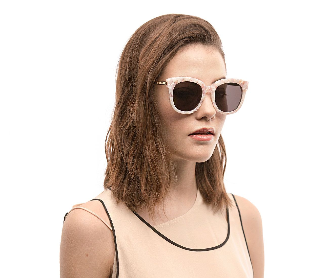 090e5a3f3a1b8 GENTLE MONSTER - CUBA 502 P5 Cat Eye Sunglasses