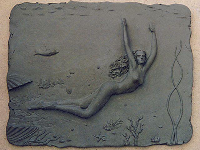 Venus. Earthenware clay.