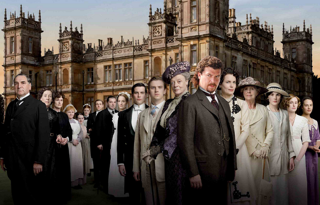 Eastbound and Downton Abbey