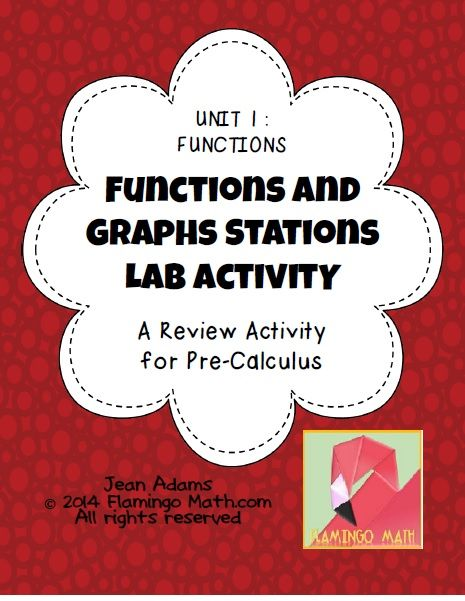 Functions - Graphs Stations Activity (PreCalculus - Unit 1