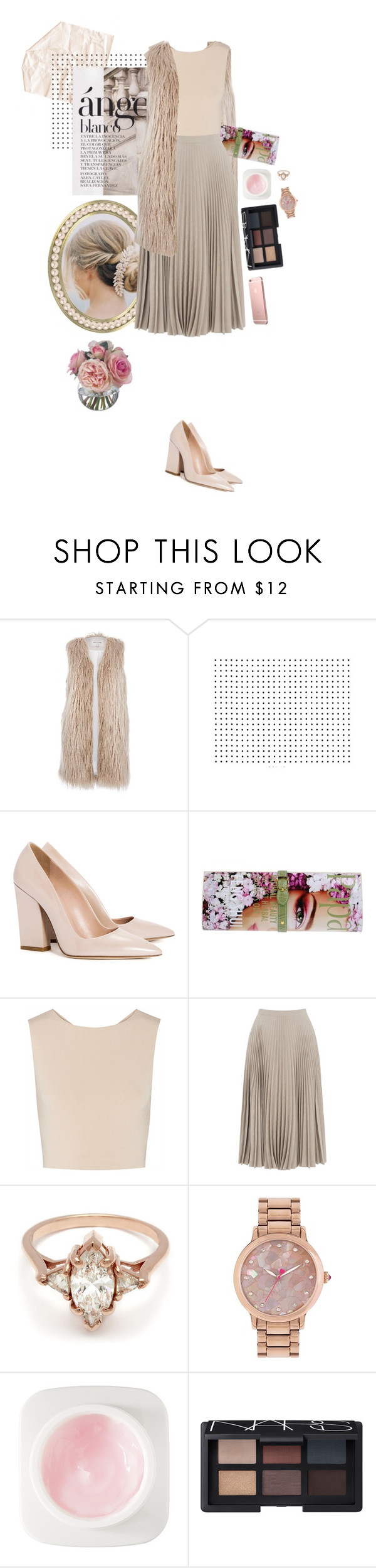 """""""Moodboard #1"""" by streetstylefiles ❤ liked on Polyvore featuring River Island, Dee Keller, Papà Razzi, Alice + Olivia, Warehouse, BEA, Betsey Johnson, Erno Laszlo, NARS Cosmetics and Diane James"""