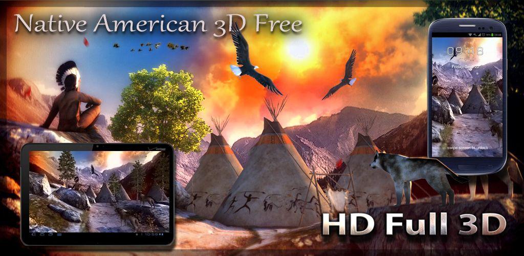 3 d native american screensavers free native american wallpaper
