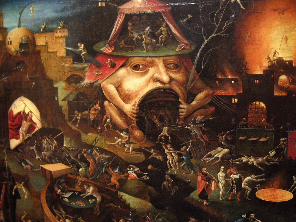 Hieronymus-bosch images | Winged Demons - Hieronymus Bosch ...