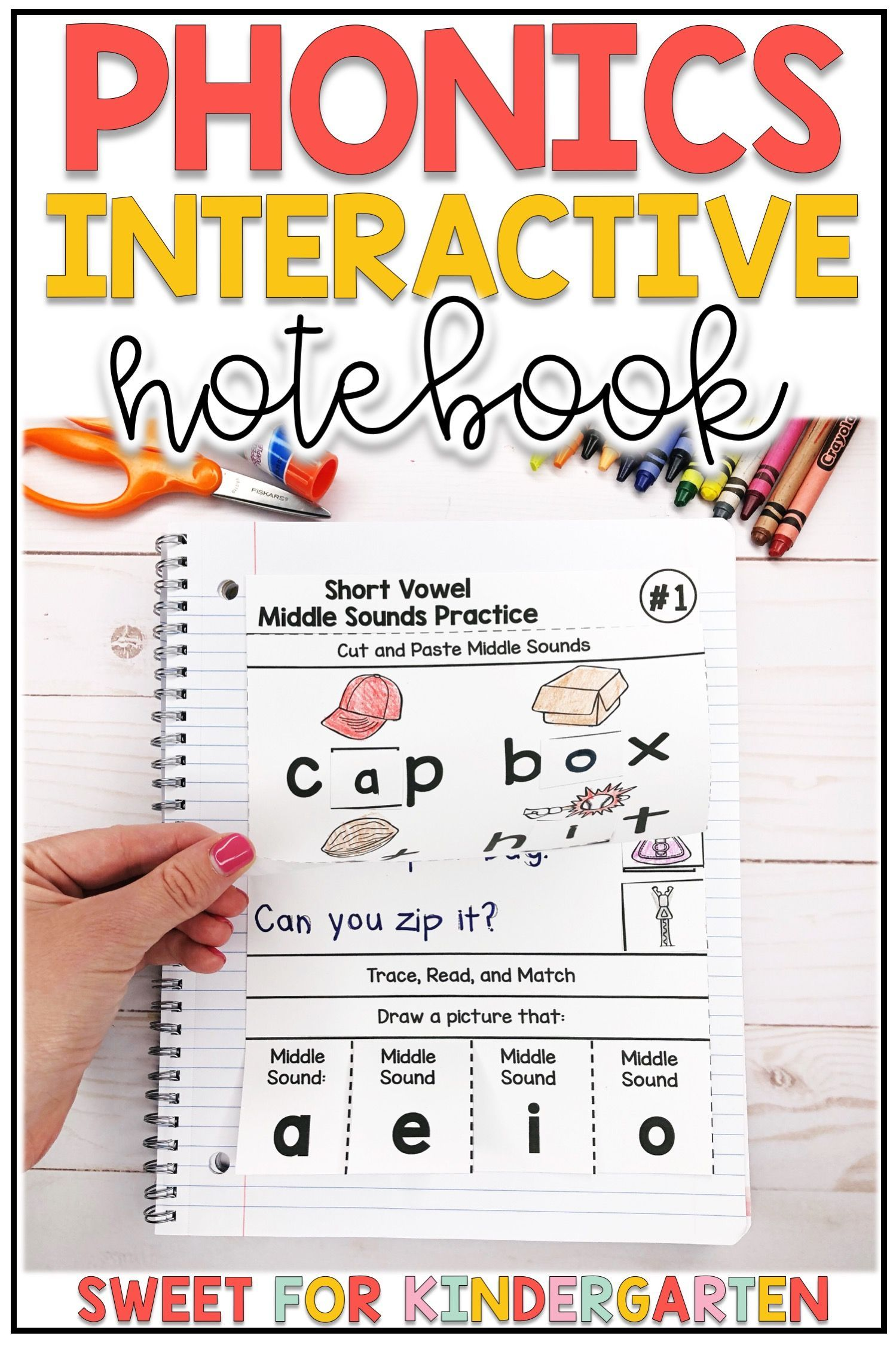 Phonics Interactive Notebook Bundle In