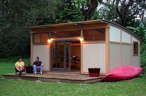 modern moble homes | Modern Modular Homes California : Simple Metro Cabin Modern Modular ...