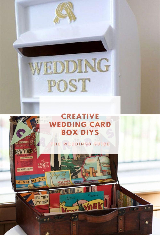 Creative Weddings Boxes in 2020 Card box wedding, Diy