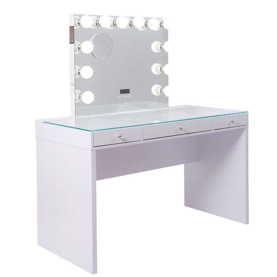 Slaystation Plus 2 0 Vanity Table Impressions Vanity Vanity Bathroom With Makeup Vanity