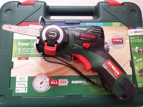 Bosch Easycut 12 Li Cordless Saw Unboxing And Test Youtube Cua