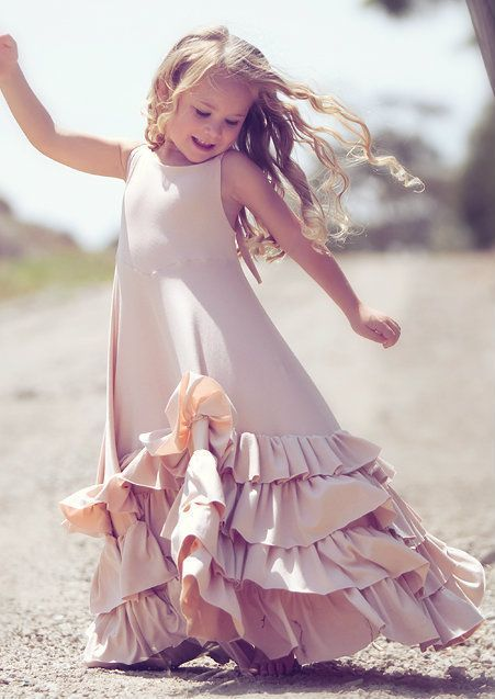 girly maxi dress