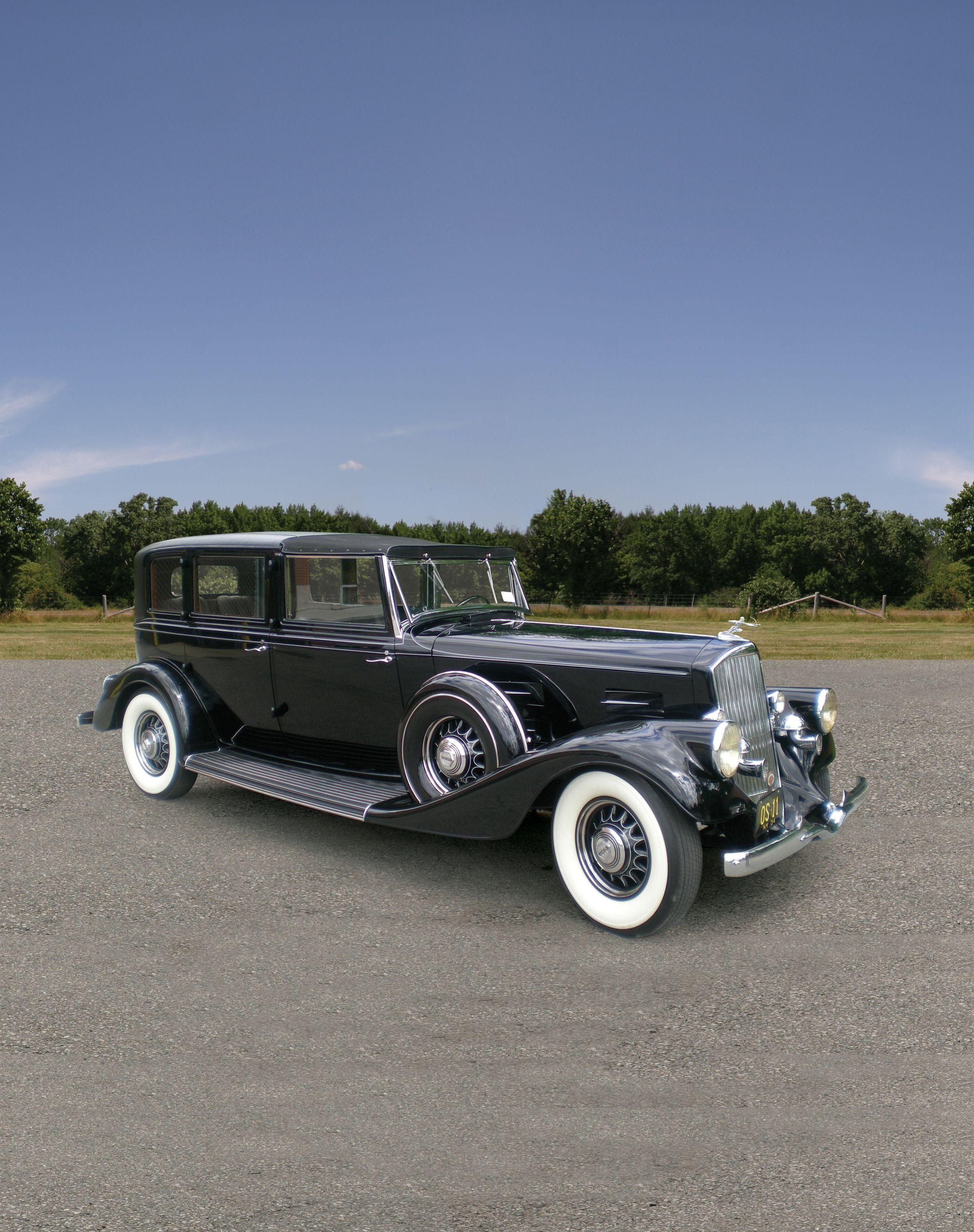 1934 Pierce Arrow V12 Model 1248a All Weather Town Brougham