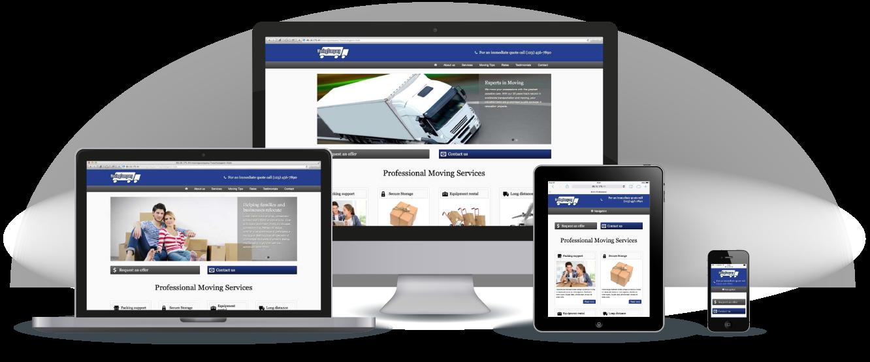 moving company wordpress theme | Cosas para comprar | Pinterest ...