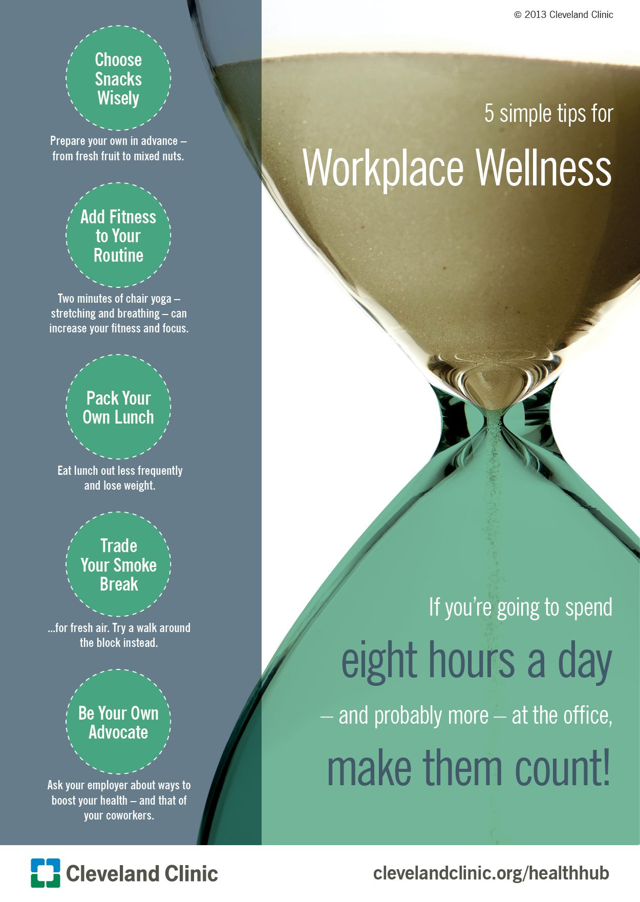 5 Simple Tips for Workplace Wellness (Slideshow ...