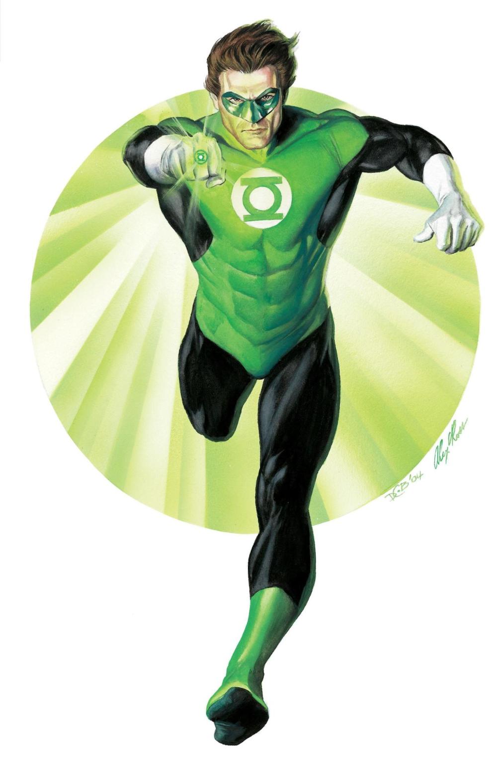 Hal Jordan Alex Ross Green Lantern Hal Jordan Green Lantern Green Lantern Corps