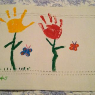 Karly Made These Placemats For Mothers Day This Year Preschool Crafts Crafts Gifts For Mom