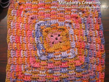 Basket Weave Granny - Meladora's Creations Free Crochet Patterns & Tutorials