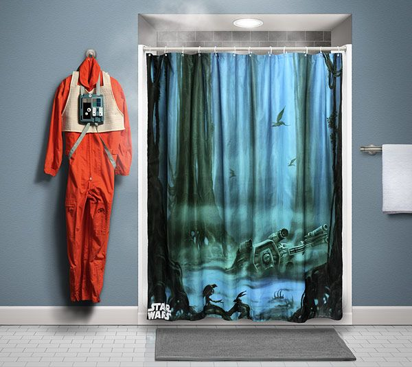 Star Wars Dagobah Shower Curtain