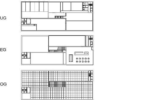 kunstmuseum liechtenstein plans architekturplan. Black Bedroom Furniture Sets. Home Design Ideas