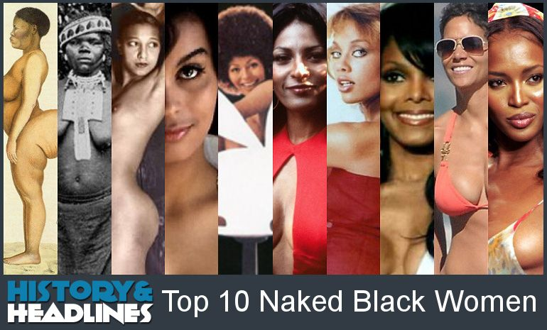 Famous black women people naked very
