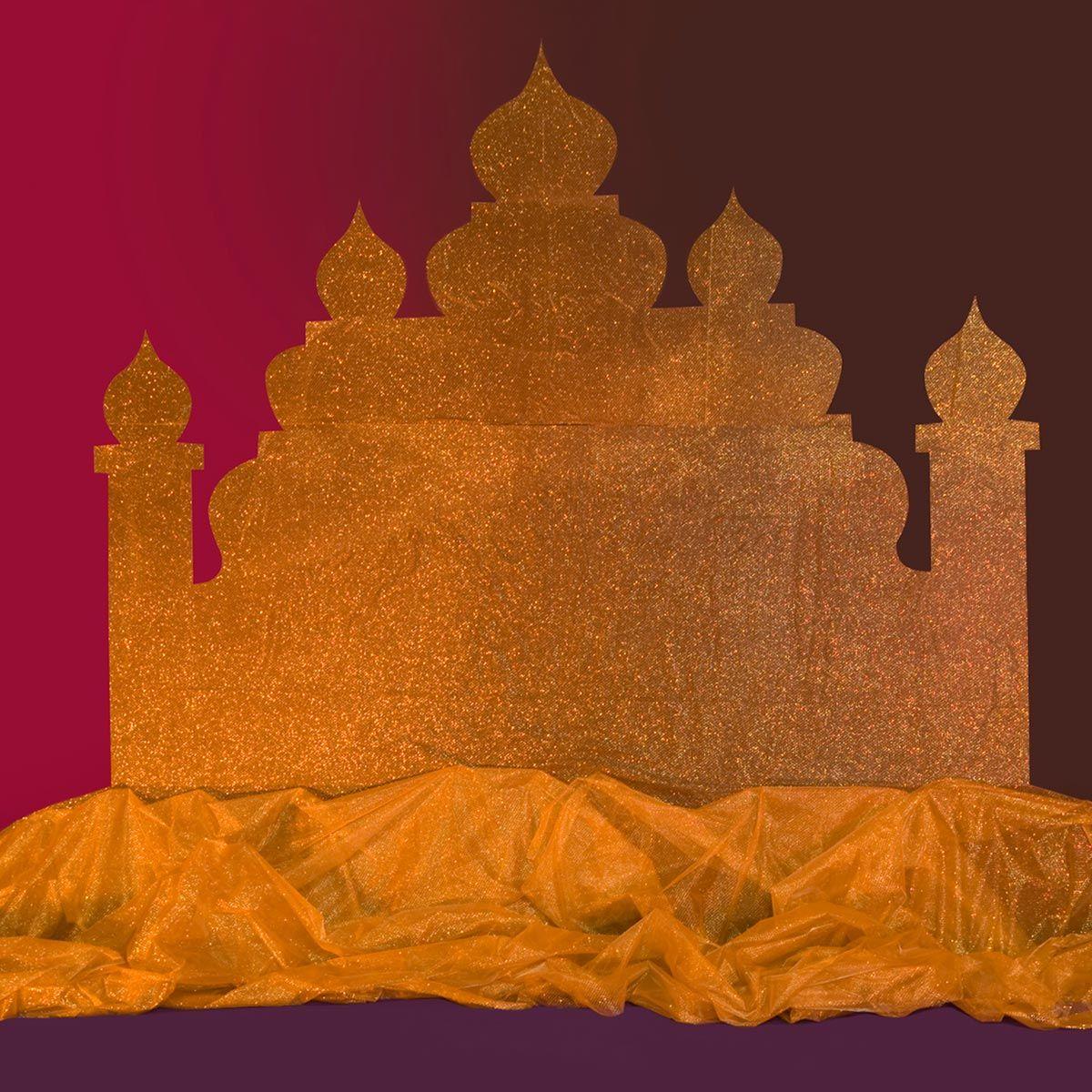 Arabian Nights Pelicula Completa Español arabian magic palace silhouette kit   arabian party, arabian