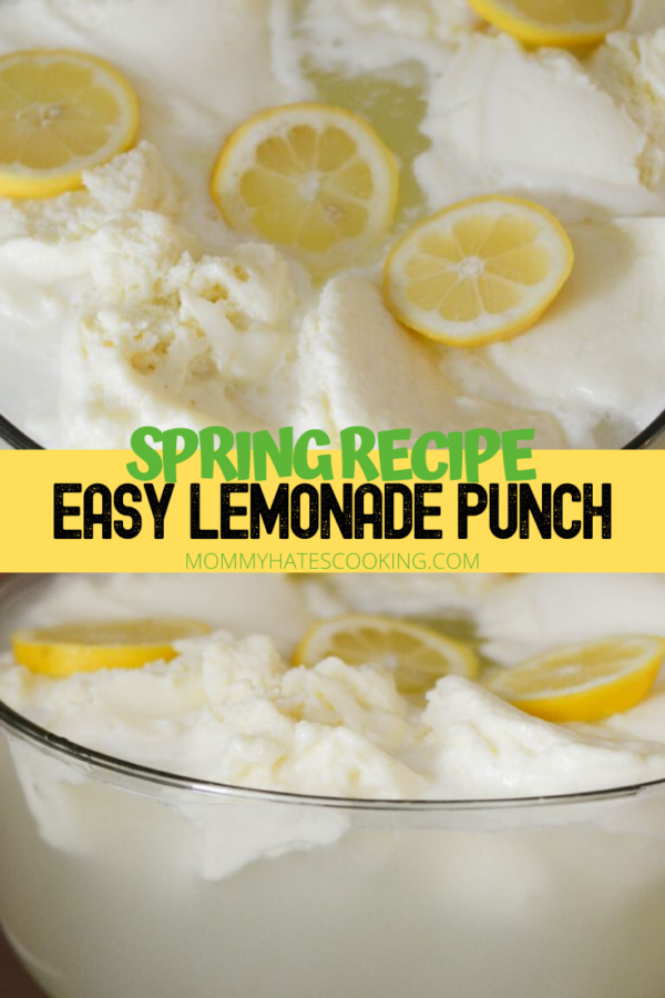 Lemonade Punch - Mommy Hates Cooking