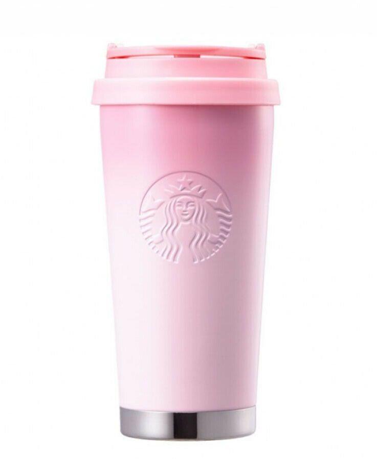 Tracking Starbucks Korea 2018 Cherry Blossom LED Waterbottle tumbler 473ml