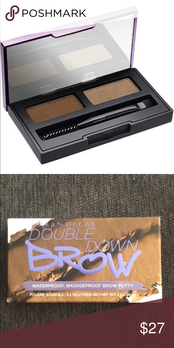 BNIB Urban Decay Double Down Brow putty Brand New in Box