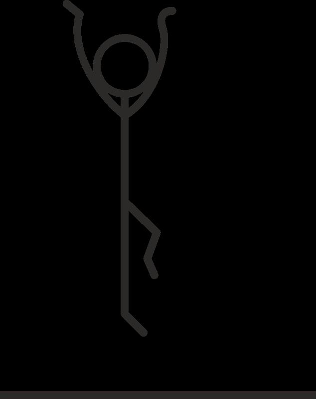 Clipart Stick Figure Jumping Stick Figures Clip Art Stick