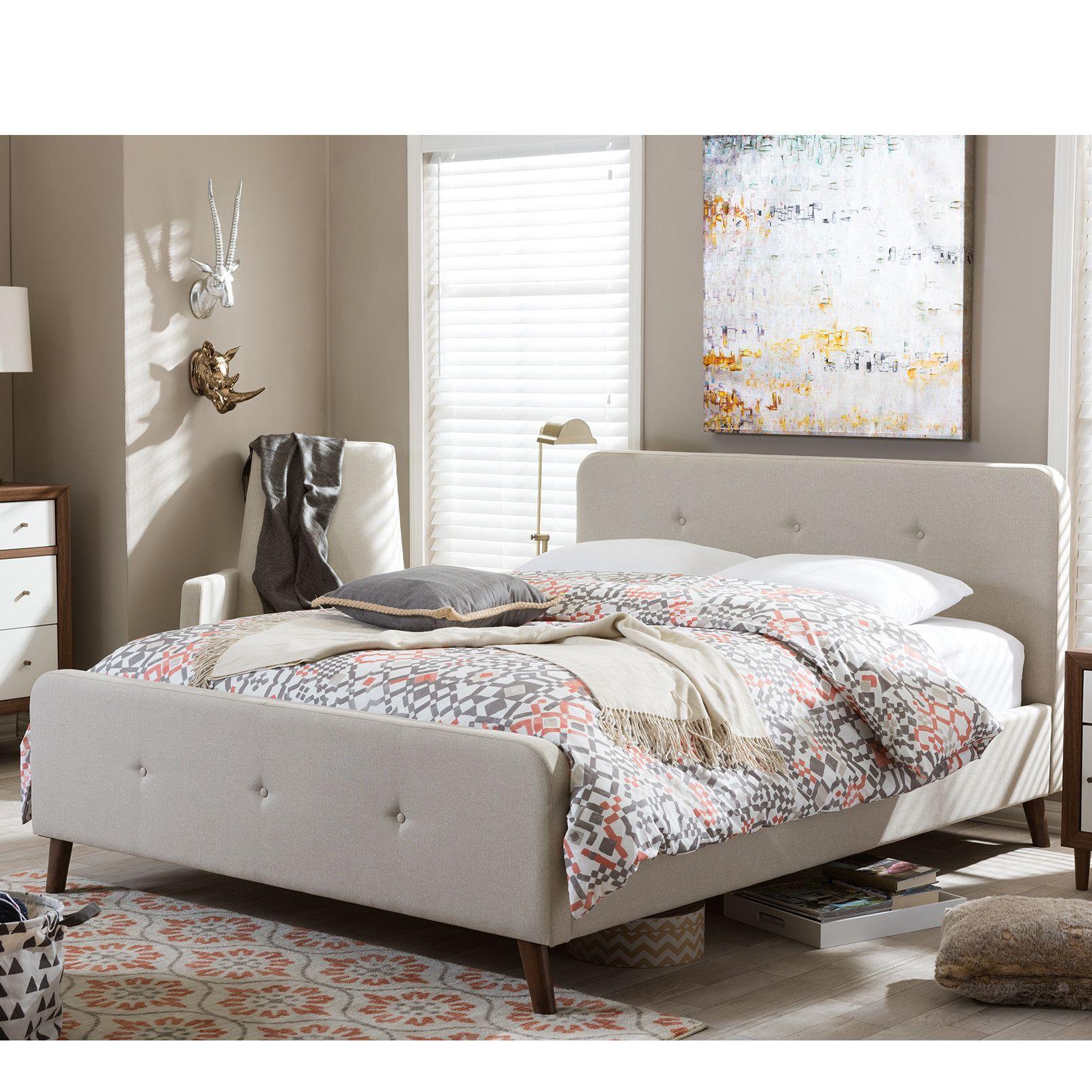 Best Shuffler Upholstered Platform Bed Upholstered Platform 400 x 300