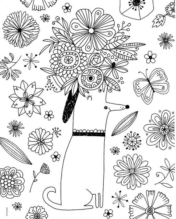 Crayola Whimsical Escapes Coloring Book By Iluvdesign