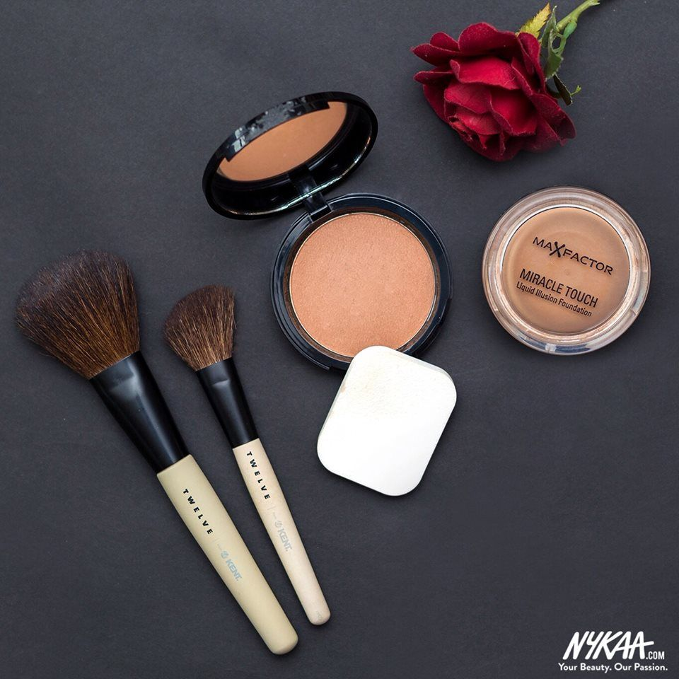 Little contouring never hurt nobody #Friyay #Nykaa #Love #Makeup