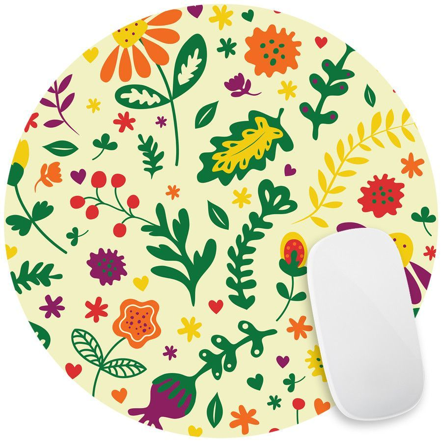 Matisse's Marigold Mouse Pad Decal