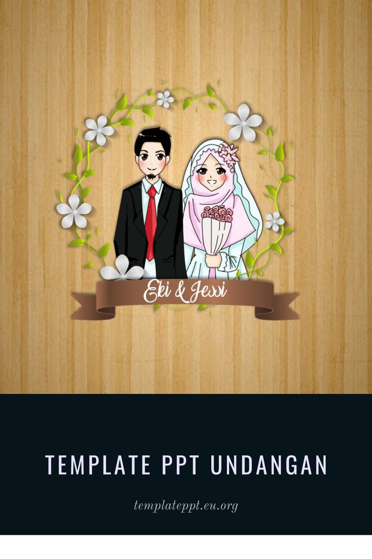 Download Template Ppt Undangan Pernikahan Islami Gratis Undangan Pernikahan Undangan Pernikahan Lucu Undangan