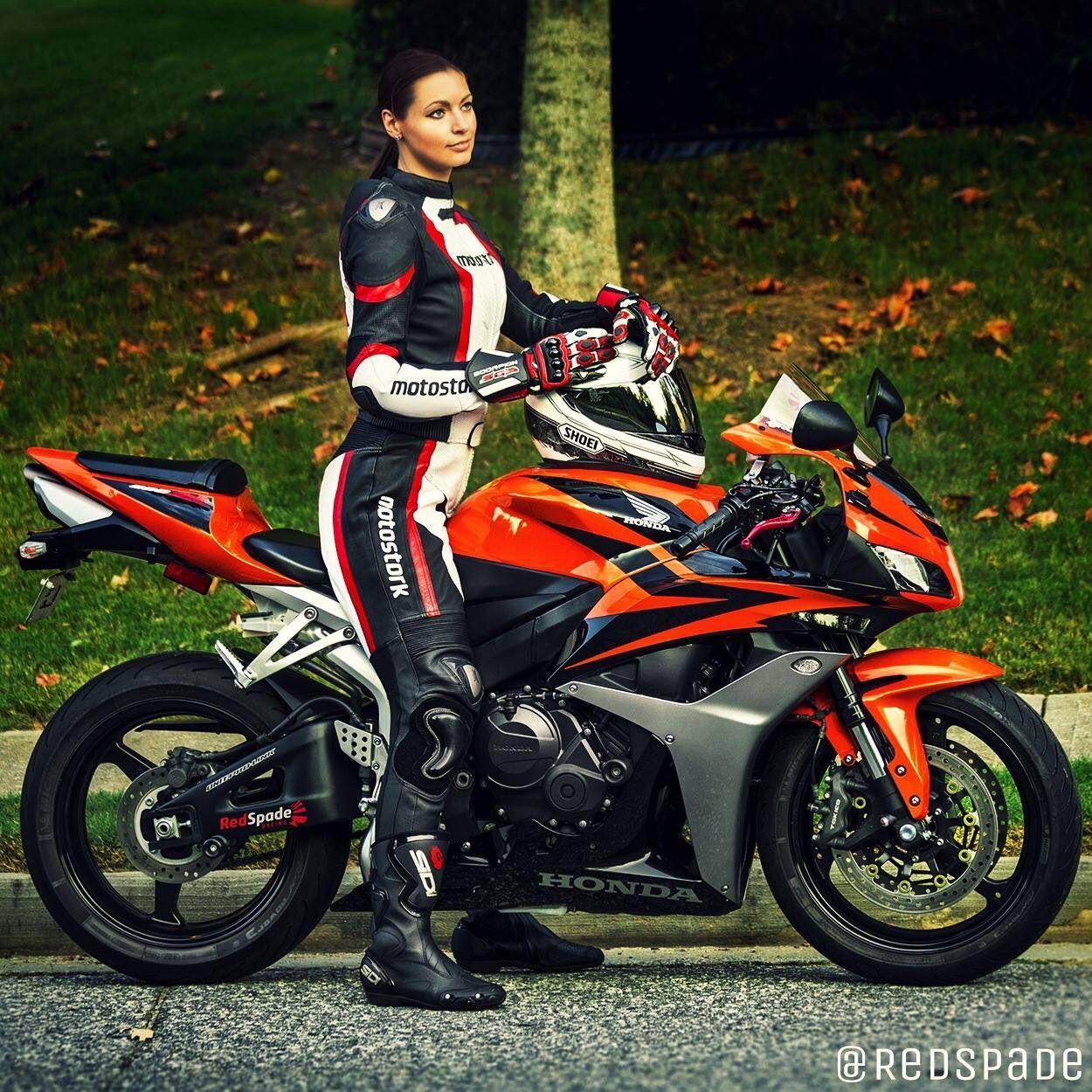 Women Riding Motorcycles  Girls On Bikes  Biker Babes -2278