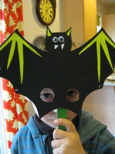 Masque d 39 halloween bricolage halloween bricolage and craft - Bricolage d halloween ...