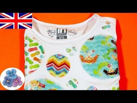 6301303b How to make a T Shirt Image Transfer to Fabric DIY Projects Gel Medium  Transfer DIY Mathie - YouTube