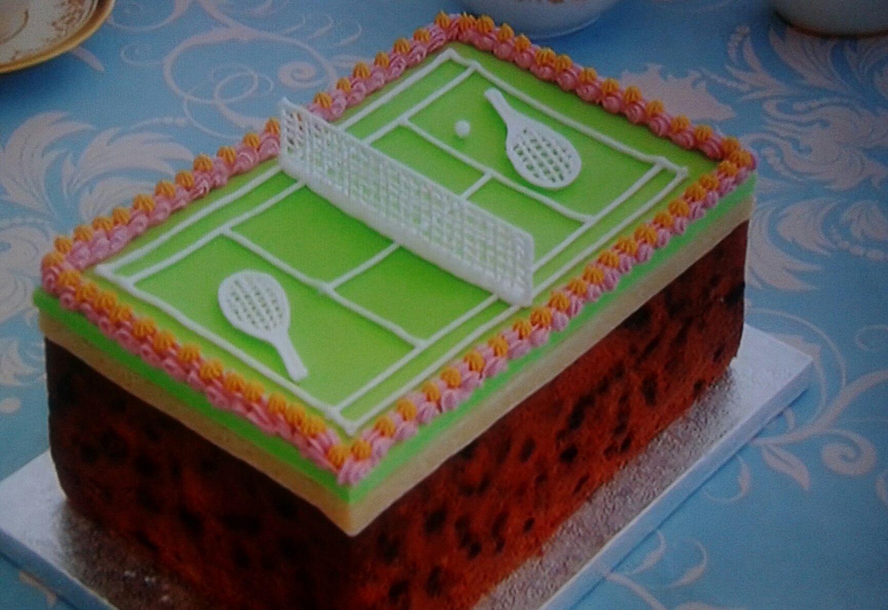 Tennis Cake: The Great British Bake Off 2015