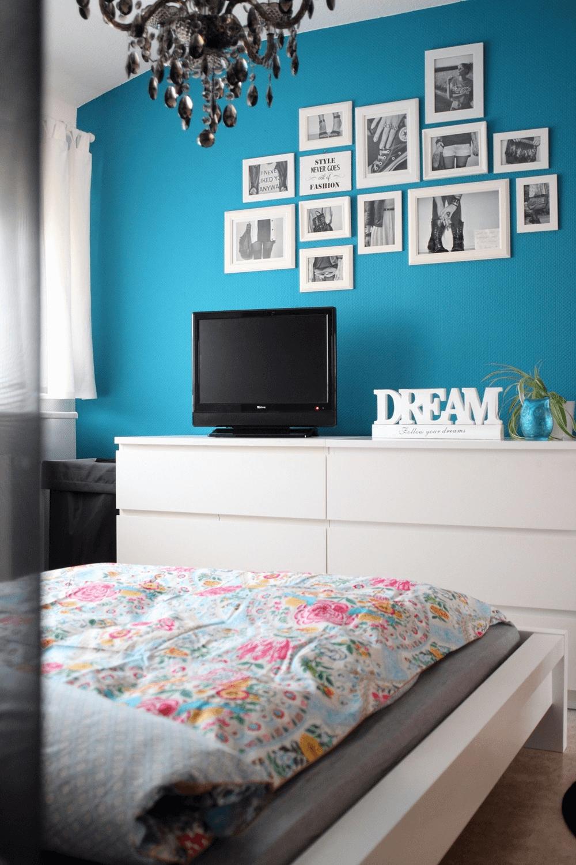 Schlafzimmer Deko Petrol | Schlafzimmer Deko Ideen