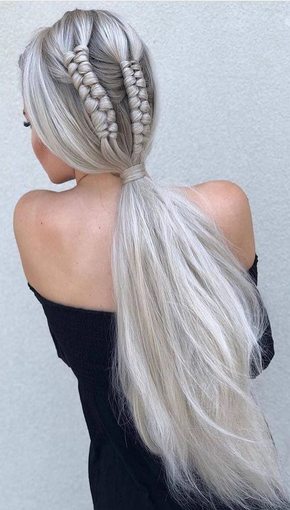 You Should Need Such Haircut Which Is Loaded With An Assortment Of Plan And Imagination And Which Is Anything Plaits Hairstyles Braided Hairstyles Hair Styles